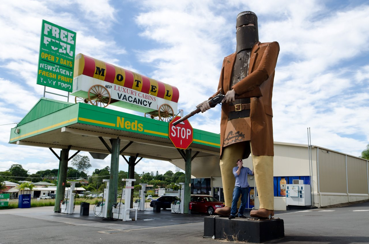 Big Ned Kelly Maryborough